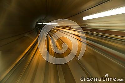Tunnel abstrait