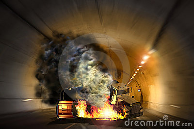 Tunnel accident