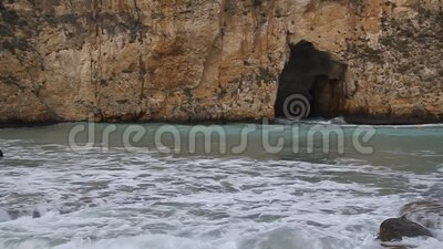 Tunnel del mare interno stock footage