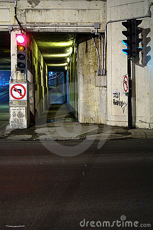 Free Tunnel Of The Death, Montreal, Canada (3) Stock Image - 630881