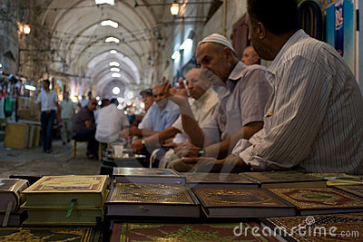 Tunnel in Old City, Jerusalem, Israel Editorial Stock Photo