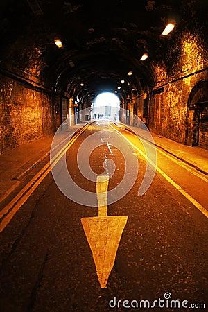 Tunnel Under Railway