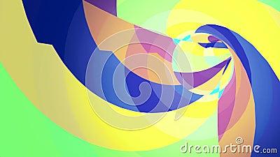 Tunnelbakgrund för färg VJ arkivfilmer