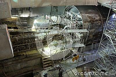 Tunneling equipment