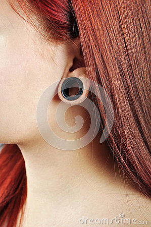 Tunnels in ears