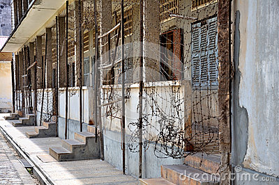 Tuol Sleng Genocide Museum,Phnom Penh, Cambodia Editorial Image