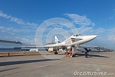 Tupolev Tu-160 (NATO reporting name: Blackjack) Editorial Image