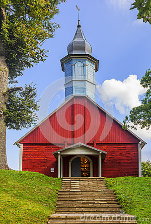Free Turaida Church. Sigulda, Latvia Royalty Free Stock Image - 75647816