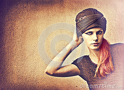 Turban on Woman