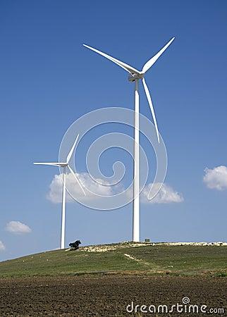 Turbina rolny wiatr