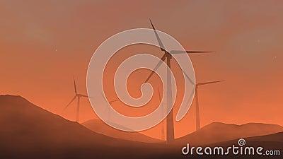 turbina wiatr zbiory