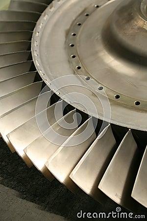 Free Turbine Blades Stock Image - 12455401