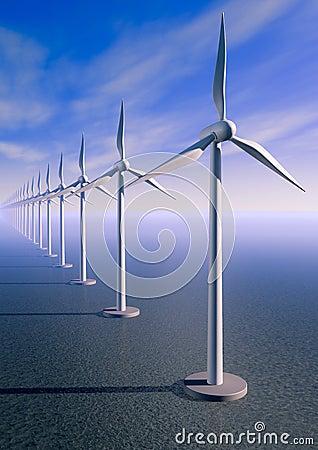 Turbine de vent