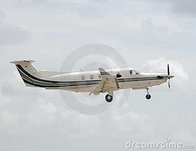 Turboprop airplane