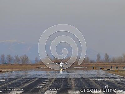 Turboprop takeoff