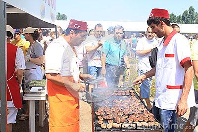 Turc grillé Image stock éditorial