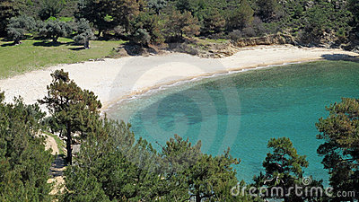 Turcuise lagoon, Thasssos