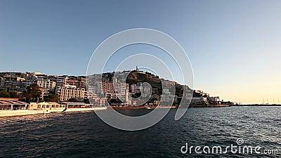 Turecki Egejski wybrzeże zbiory wideo