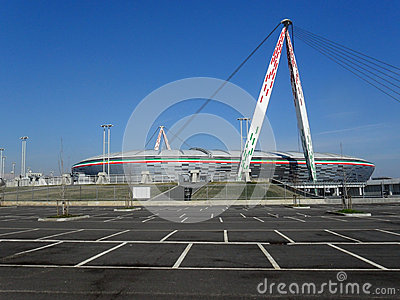 Juventus Stadium Editorial Image