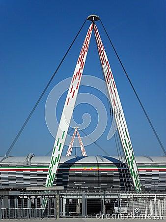 Juventus Stadium Editorial Photo