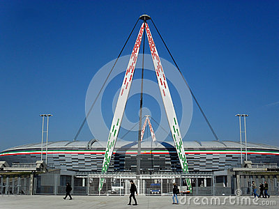 Juventus Stadium Editorial Photography