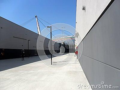Juventus Stadium Editorial Stock Photo