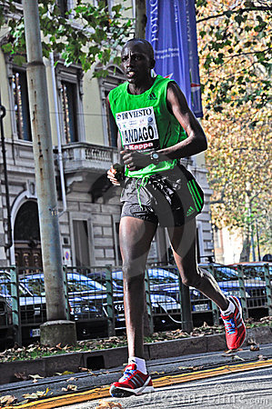 Turin Marathon 2011 Editorial Stock Photo