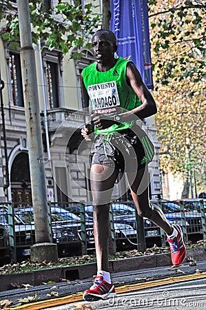 Turin Marathon 2011 Editorial Stock Photo