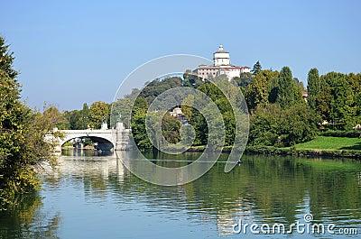Turin river Po