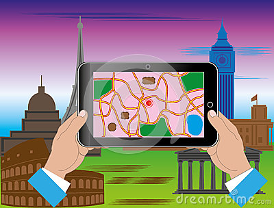 Turism till och med internet