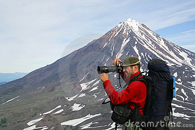 Turist-photographer.