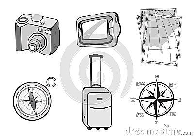 Turistic icons