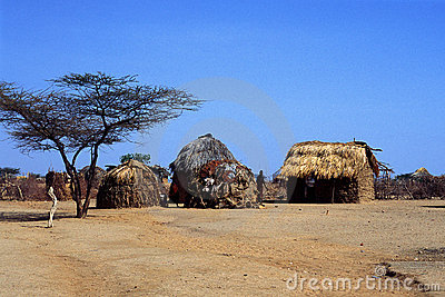 Turkana Village (Kenya) Editorial Image