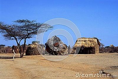 Turkana Village (Kenya) Editorial Image