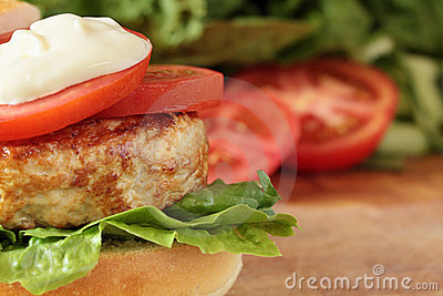 Turkey burger.