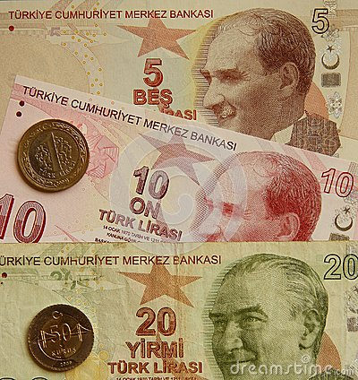 Turkey currency