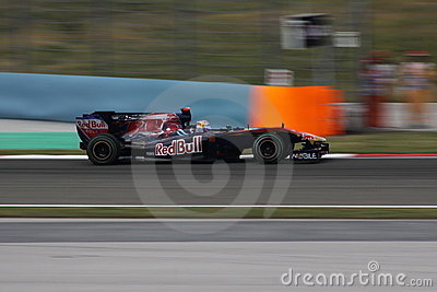 Turkey F1 2010 Sebastien Buemi Editorial Stock Image