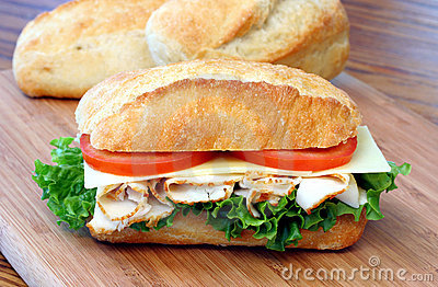 Hero Sandwich Hero Sandwich Stock Image