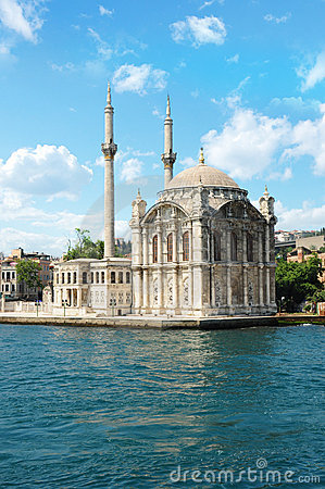 Turkey, Istanbul, ORTAKOY Mosque
