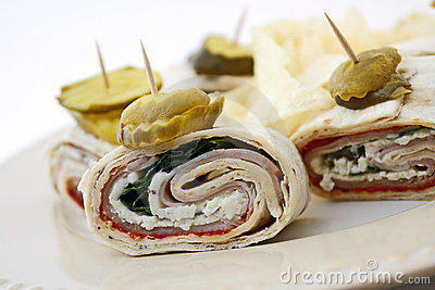 Turkey Lavash Wraps