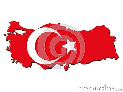 Shadow Turkey Flag Roy...