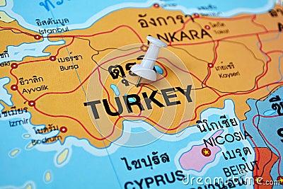 pin turkey map on -#main