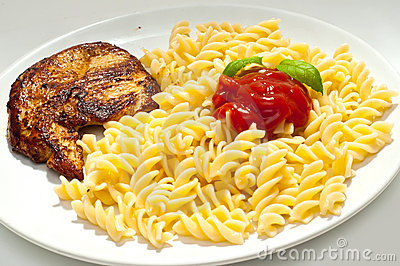 Turkey and pasta