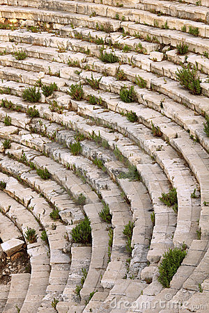 Turkey Patara ancient city amphitheater