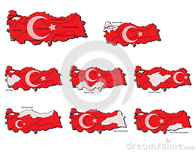 Turkey provinces maps