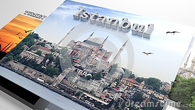 Turkey sightseeing in slideshow like set photos