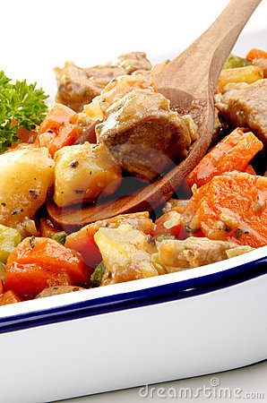 Turkey stew with potatoes