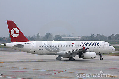 Turkish Airlines Editorial Stock Photo