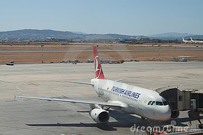 Turkish Airlines Redaktionelles Foto
