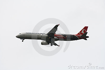 Turkish Airlines  Airbus A321 Editorial Photo